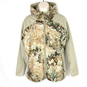 Cabelas OutfitHer Camouflage Camo Lined Jacket L